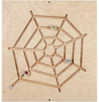 Spider Web Sensory Wall Activity Panel - Made by HABA
