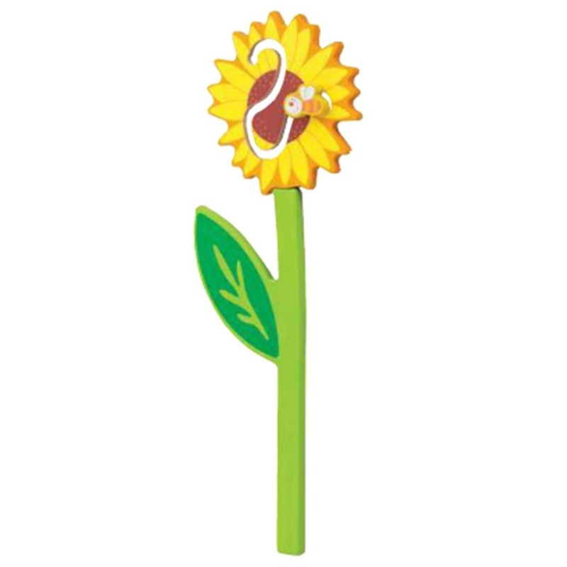 Sunflower with Bee Wood Play Wall Decor 121048