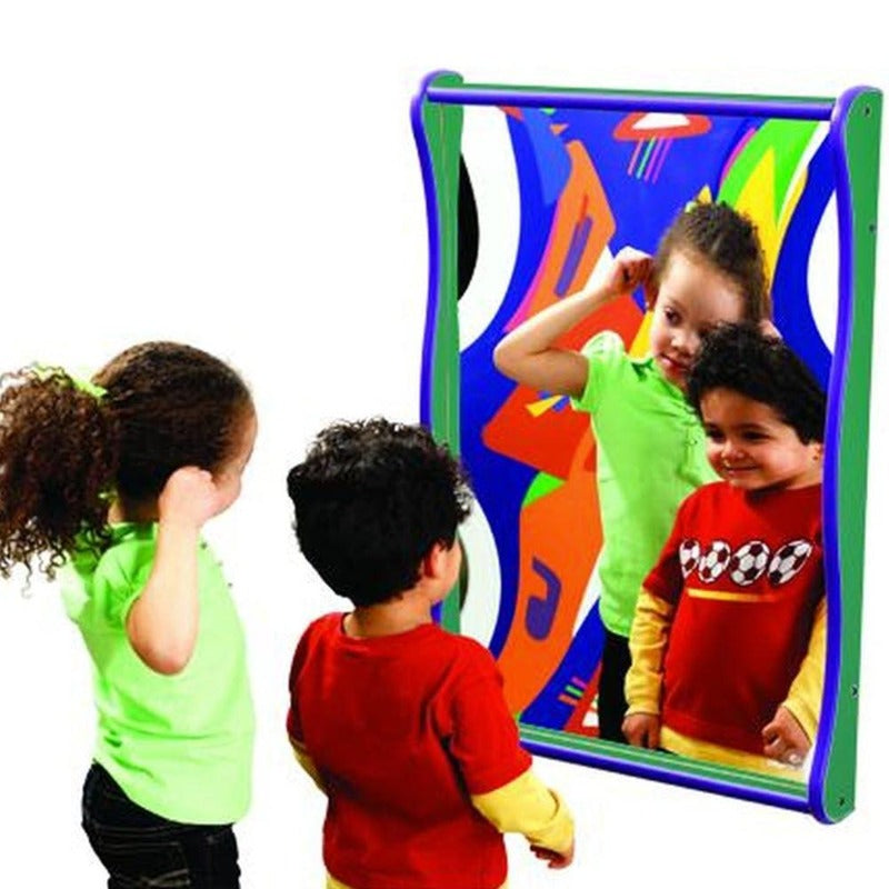 Super Wide Large Giggle Mirror - Playscapes Gressco