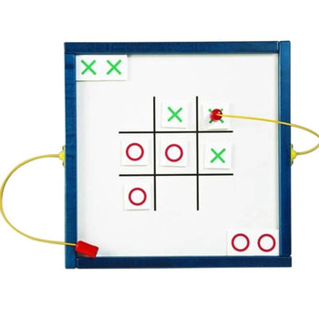 Tic Tac Toe Magnetic Wall Toy