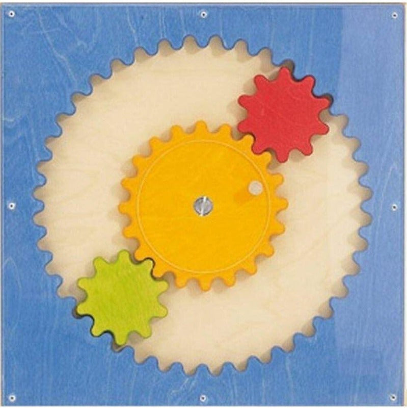 Tooth by Tooth Gears Wall Panel