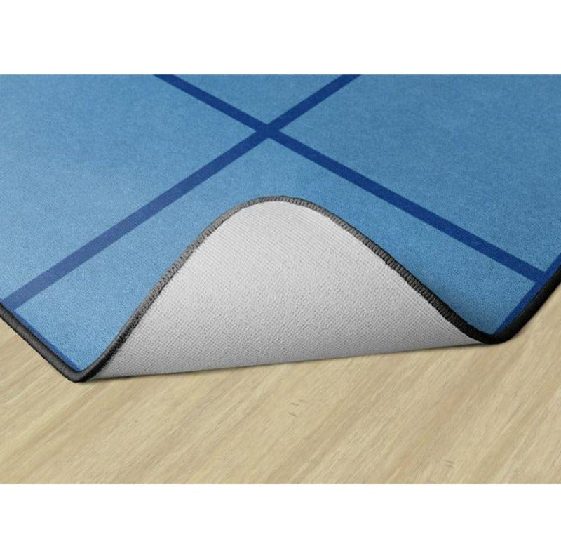 Touch the Sky Blue Serene Seating Rug