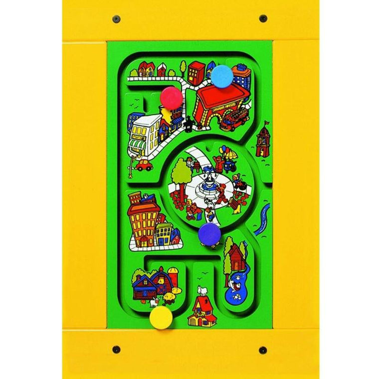 Travel Town Wall Activity Panel Toy
