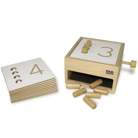 Tumble Down Counting Pegs - Made by TAG Toys