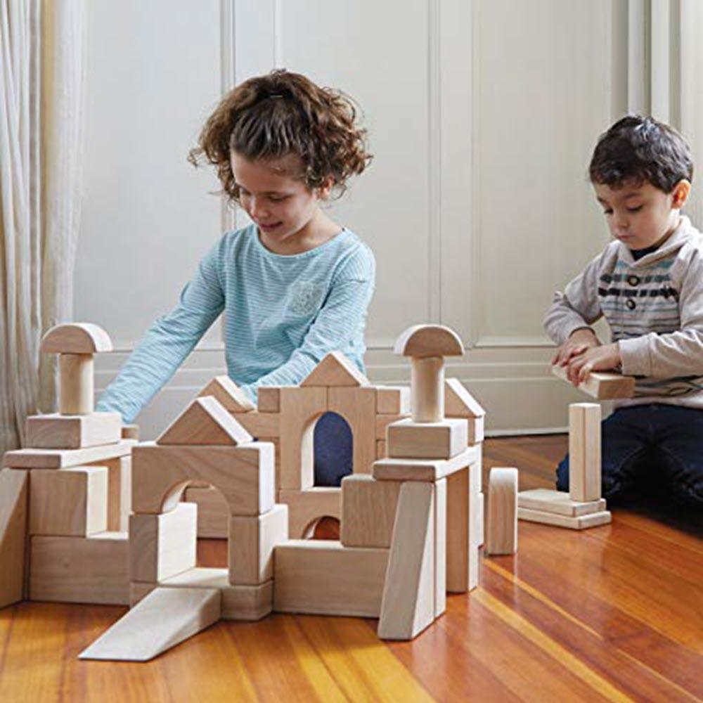 Unit Block Set C 84 Piece Building Set for Children