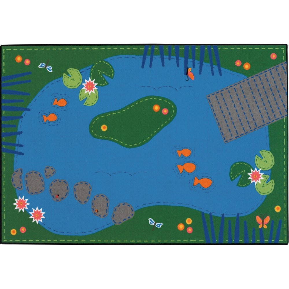 Value Line Tranquil Pond Rug