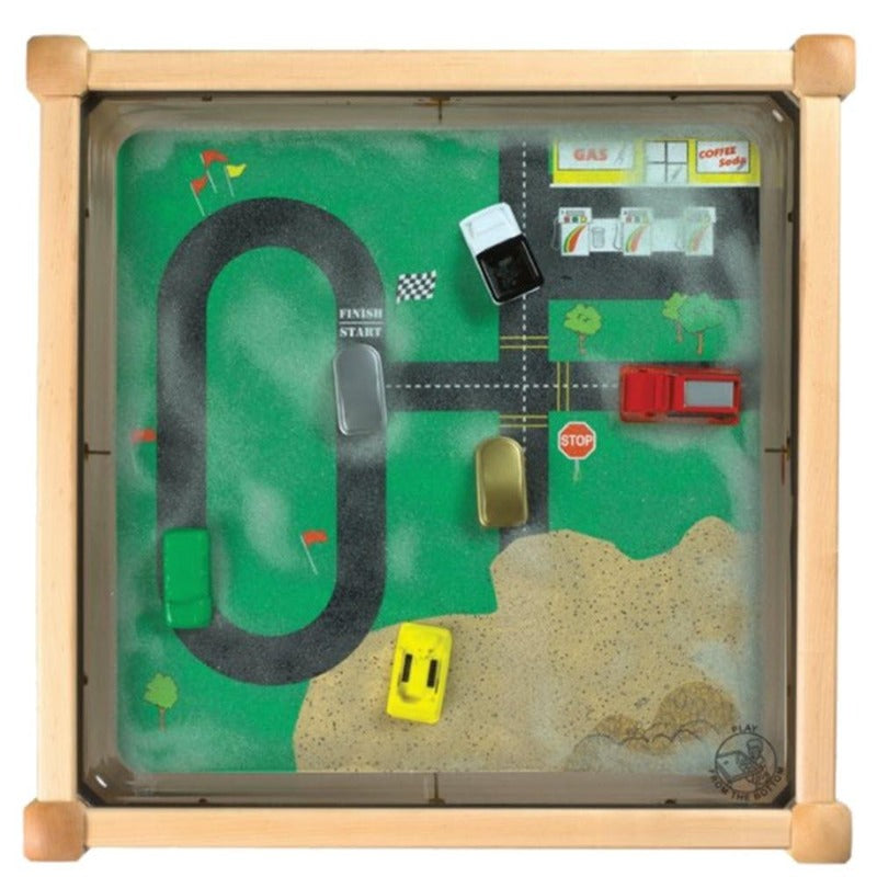 Vehicle Theme Activity Sand Table - Gressco Y104222601N