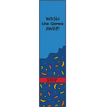 Wash Away the Germs Rug Runner