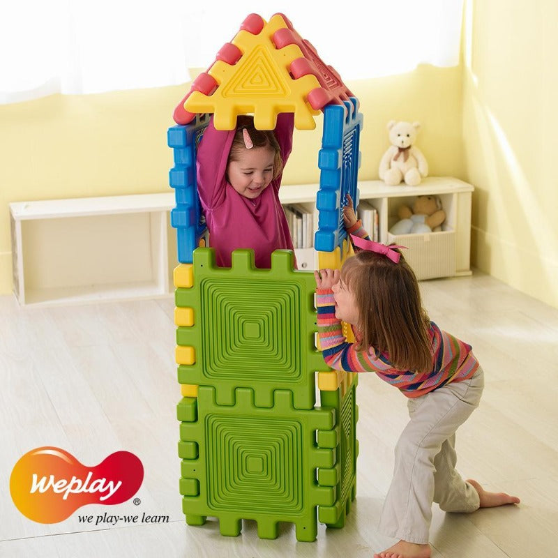 Weplay Construction Tower Building Set