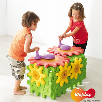 Weplay Gears Children's Building Set - KT1004