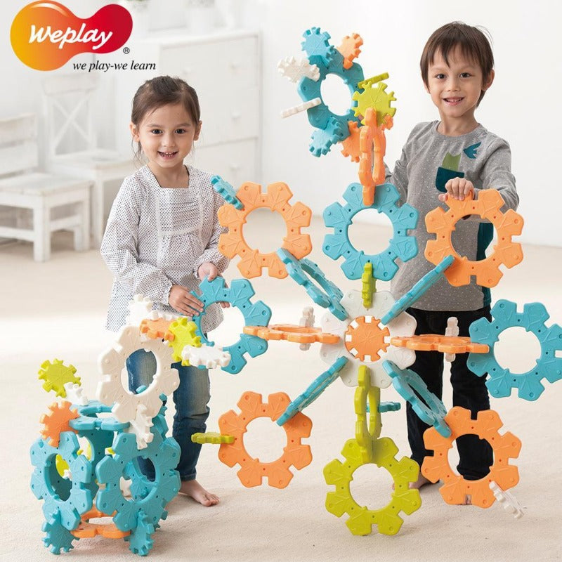 Weplay Icy Ice Toy Building Set KC0005