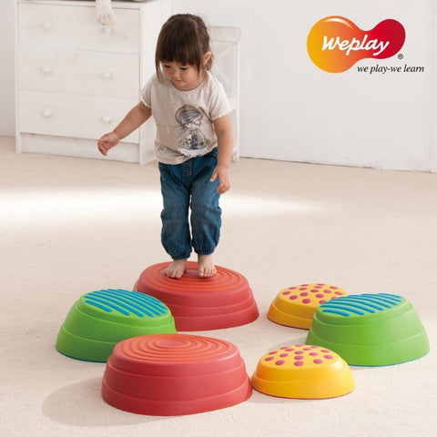 Weplay Rainbow River Stones - KT0008