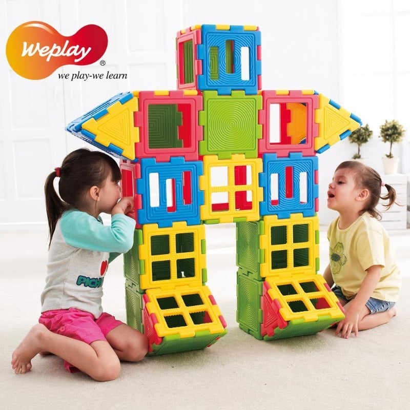 Weplay KC3002-028 - We-Blocks Mini Set of 28