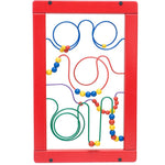 Wire & Bead Maze Wall Toy