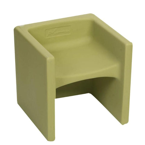 Woodland Cube Chair Fern Green