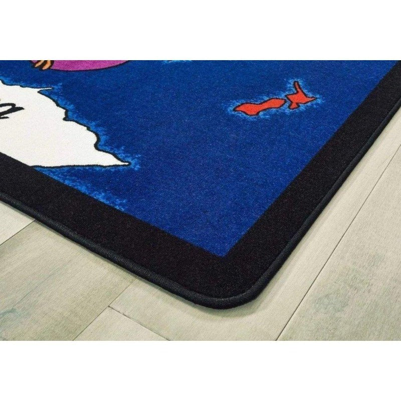 World Explorer Educational Rug