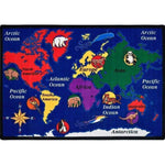 World Explorer Factory Second Rug