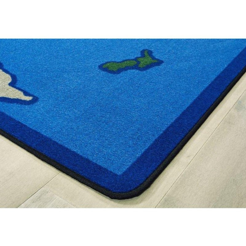 World Map Factory Second Rug