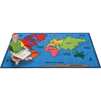 World Map Value Plus Rug