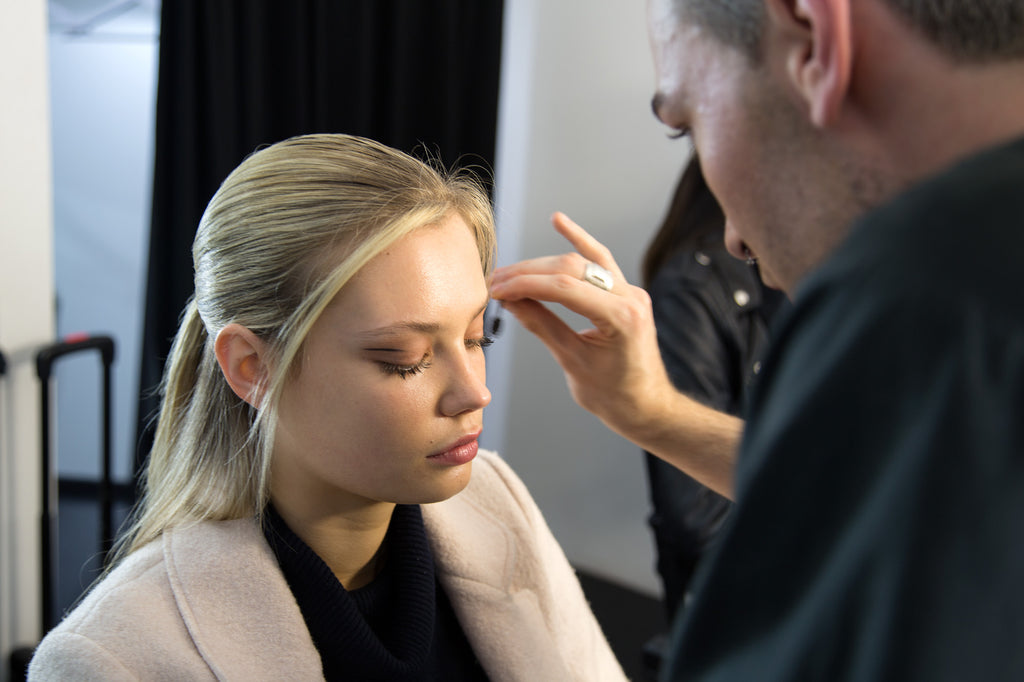 Lucilla Gray Backstage NZFW - Photography Russell Kleyn