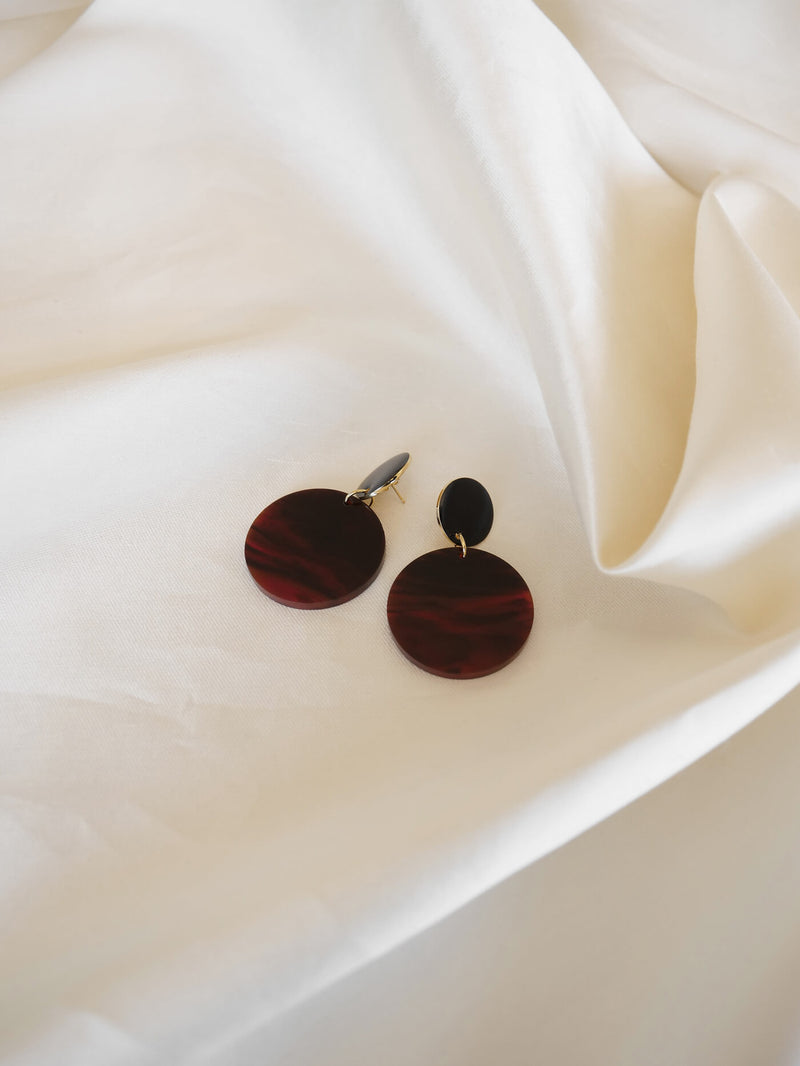 MARGO EARRINGS | TORT