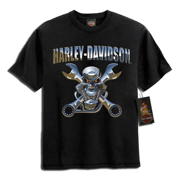 0194156  H-D® Boys Chrome Skull T-Shirt