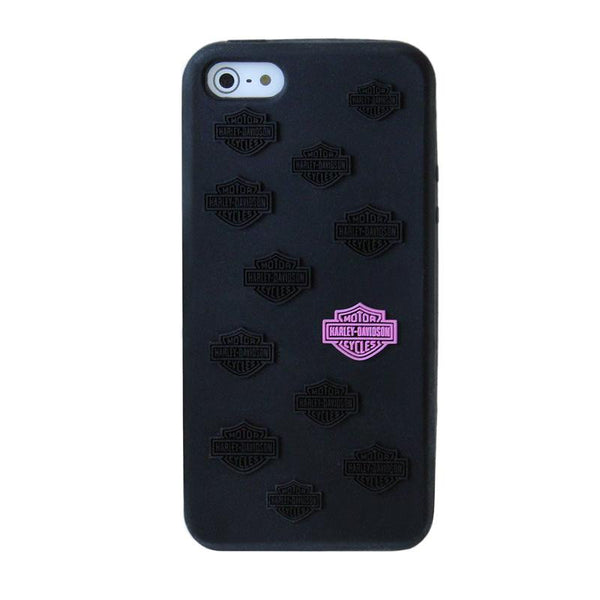 07487 H-D® Silicone Pink Bar & Shield iPhone 5 Shell (40% off)