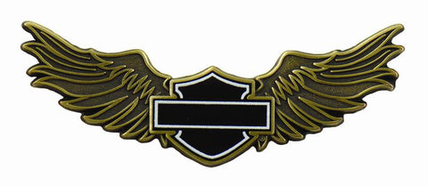 152986 H-D® Black B/S Wings Pin
