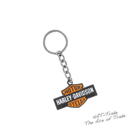 HDKD15. HD 2 Color B&S Logo Key Chain