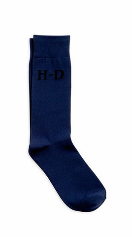 99402-16VM Harley Davidson Trousers Blue Socks