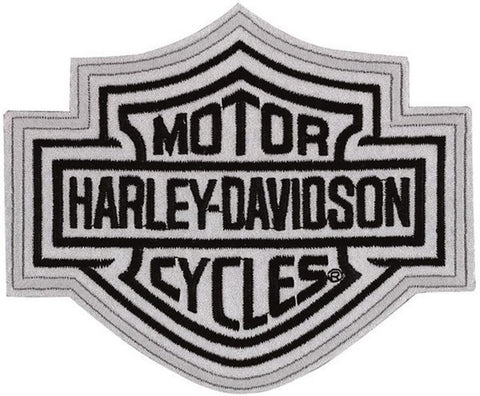 EMN302883 - Harley-Davidson® B&S Reflective Medium Patch