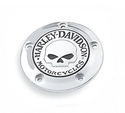 32975-04A H-D Willie G. Skull Timer Cover