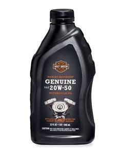 62600007 Genuine Harley-Davidson® 360 Motorcycle Oil - SAE 20W50