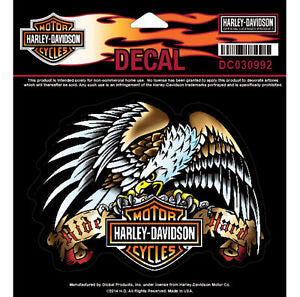 DC030992 H-D Tatto Eagle MD Decal