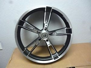 "43300027 2015 Harley Davidson Road Glide 19"" Front Wheel USED 43300027 ABS 25mm Take-Off"