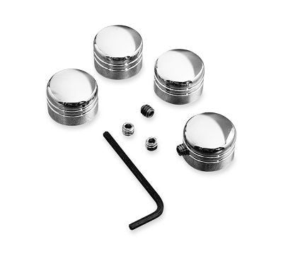 Classic Chrome Headbolt Cover Kit 43890-93