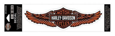 DC339384 Harley-Davidson® Straight Wing Bar & Shield® Decal