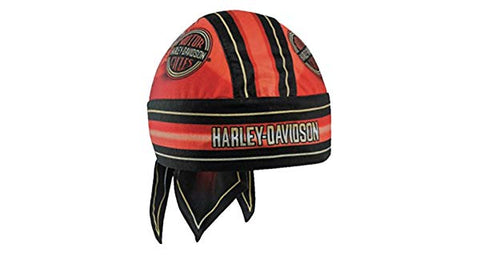 HW23932 Harley Davidson Men's Winged H-D Circle Name Headwrap