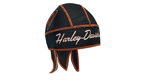 HW26230 Harley-Davidson Women's Flaming H-D Initials Headwrap