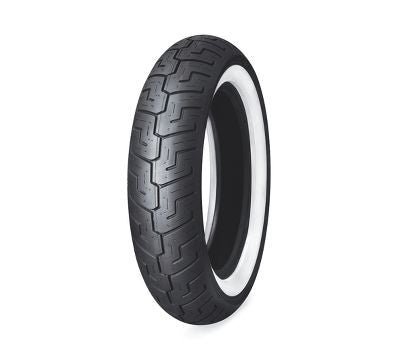 "55192-10 Dunlop D401 150/80B16 Wide Whitewall 16"" Rear ( 50% OFF )"