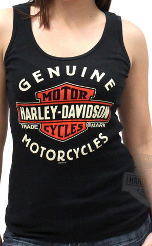 5L17-V841  H-D® Women's Hard Pavement Sleeveless Tank