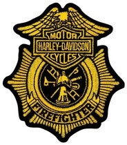 EM1265172 - Harley-Davidson® Firefighter Original Small Patch Patch