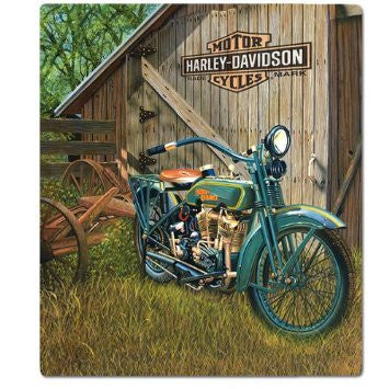 2010531 H-D® 1923 F-Head Twin Tin Sign