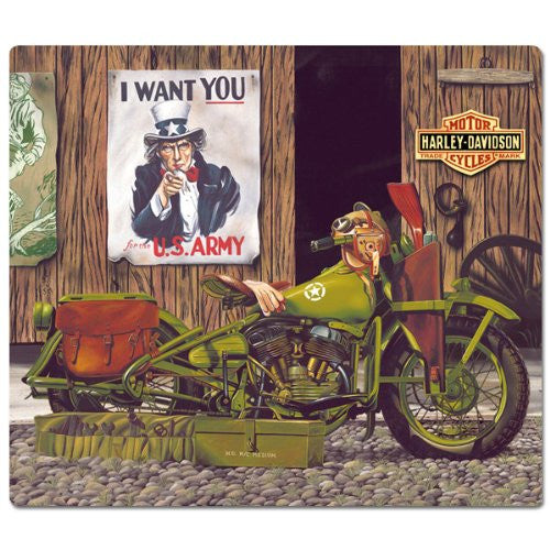 2010551 H-D® Freedom Riders Tin Sign