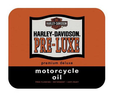 MO01638 Harley-Davidson Pre-Luxe Mouse Pad Orange & Black