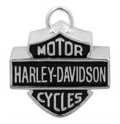 HRB024 Harley-Davidson Large Bar & Shield Motorcycle Ride Bell, Silver