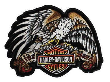 EM030994 Harley-Davidson Tattoo Eagle Patch