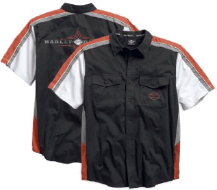 96479-15VM H-D® Men's Classic Colorblocked Shirt
