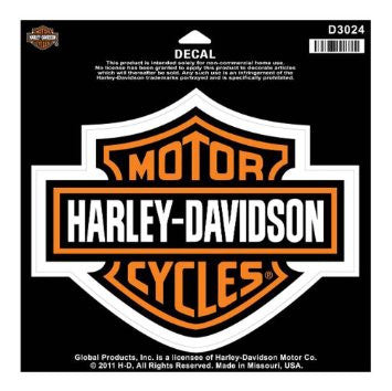 D3024 Harley-Davidson® B&S Large Decal