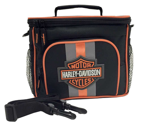 7180537  H-D® Bar & Shield Insulated Lunch Tote, Shoulder Strap
